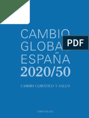 Calendario Academico Ucm 2020 2020.Cambio Global Informe Salud Y Cambio Climatico