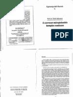 Dr. Torok Szilveszter a Szervezet Meregtelenites Komplex Rendszere