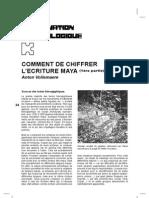 Ecriture Maya Déchiffrée Vollemaere, Anton