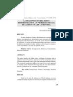 Transposicion Del Textos Historiograficos