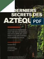 Les Derniers Secrets des Aztèques Drapper, Robert