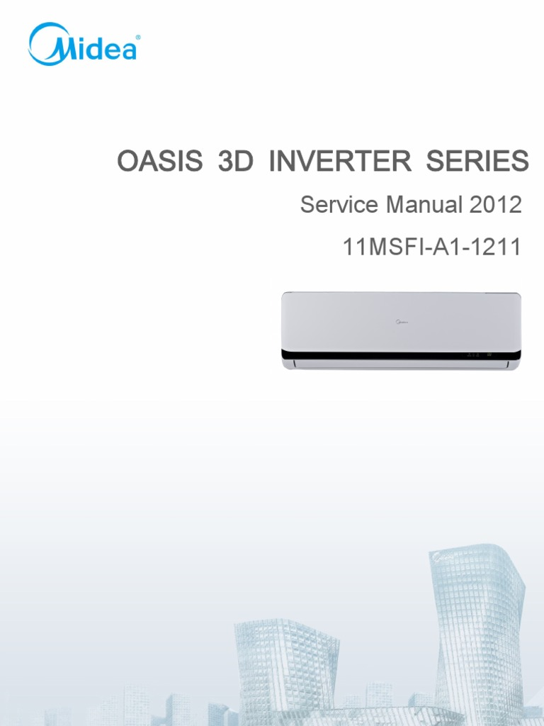 Ebook PDF Midea Inverter Service Manual Pdf