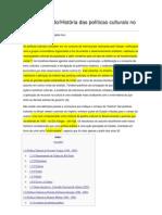 124813957 Pablo Ortellado Historia Das Politicas Culturais No Brasil OK