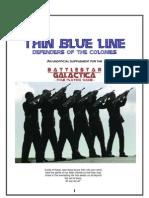 Battlestar Galactica RPG Thin Blue Line