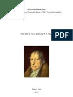 Biografia de George W. F. Hegel