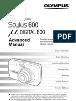Manual Olympus MjuD600 Stylus600 ENGLISH