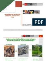gestion ambiental minera 2009