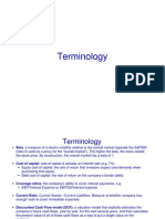 Terminology Update