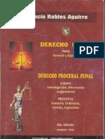 Derecho Penal y Procesal Penal-Robles Aguirre 6ta Edicion