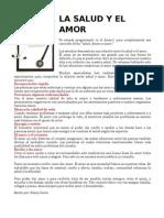 LA SALUD Y EL AMOR