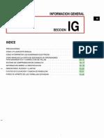 044[Manual] Nissan Tsuru 91-96 - Serie B13 Motor SR20DE Con ECCs (Suplemento) - Informacion General