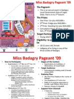 Miss Badagry Pageant '09