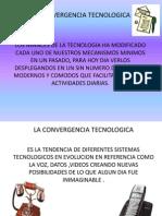 Presentación CONVERGENCIA TECNOLOGICA 1