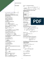 Formulae Sheet Final