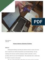 eportfolio competency h technology intergration