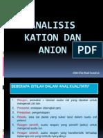 Anal Kation Dan Anion