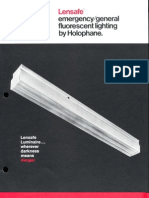 Holophane Emergency Lensafe Series Brochure 4-73