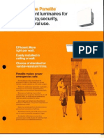 Holophane Emergency Panelite Series Brochure 4-73