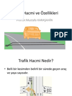Hafta 2-Trafik Hacmi ve Özellikleri