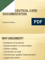 pharmaceutical care documentation