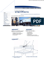 Clarifier, Thickener