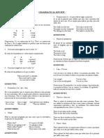 Grammatical Review