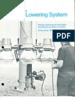 Holophane HMS Lowering System Brochure 1971