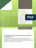 Trinidad Community Garden Presentation