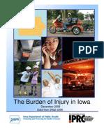 Burden of Injury Full Report