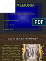 Diap- De La Memoria