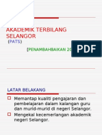 Program Akademik Terbilang Selangor 2009