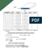 Volumen y Cuantificacion de Plantilla