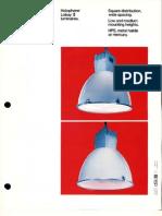 Holophane Lobay II Series Brochure 11-78