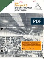 Holophane Lobay Prismpack II Series Brochure 8-75