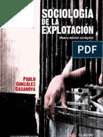 Pablo Gonzalez Casanova-sociologia de La Explotacion