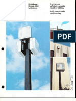 Holophane Module 600 Series Brochure 10-78