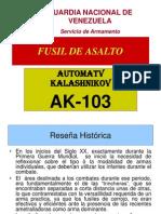 Fusil de Asalto Ak-103