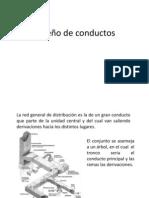 Diseño de conductos
