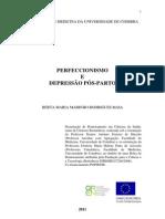PERFECCIONISMO E DEPRESSÃO PÓS-PARTO