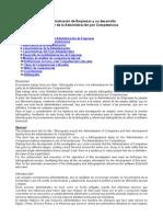 Administracion de Empresas y Administracion Competencias