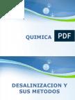 QUIMICA - DESALINIZACION