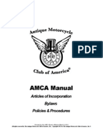 AMCA Policies and Procedures Manual 2013