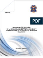 Manual Organizacional Proteccion Civil Maracaibo Final