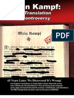 Mein Kampf Translation Controversy