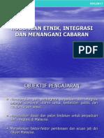 Hubungan Etnik Bab 7 Integrasi