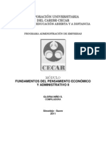 Modulo Fundamento Del Pensamiento Economico Administrativo II
