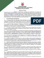 Edital Seap 017-2013- Professores