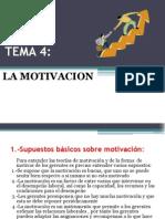 Tema 4 La Motivacion