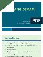 Bms166 Slide Kejang Demam