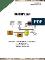 Curso Sistemas Electronicos Maquinas Caterpillar
